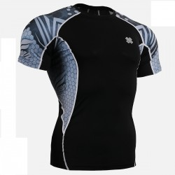 """The Hive"" - FIXGEAR Short Sleeve Second Skin Technical Compression Shirt."
