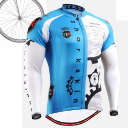 """CSG501"" - FIXGEAR Long Sleeve Cycling Jersey."