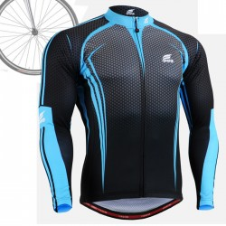 """CS5601"" - FIXGEAR Long Sleeve Cycling Jersey."