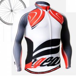 """CS3601"" - FIXGEAR Long Sleeve Cycling Jersey."