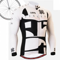 """CS3401"" - FIXGEAR Long Sleeve Cycling Jersey."