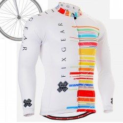 """CS3301"" - FIXGEAR Long Sleeve Cycling Jersey."