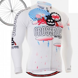 """CS2901"" - FIXGEAR Long Sleeve Cycling Jersey."