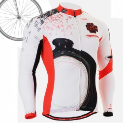 """CS2501"" - FIXGEAR Long Sleeve Cycling Jersey."