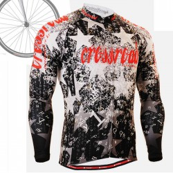 """CS2401"" - FIXGEAR Long Sleeve Cycling Jersey."