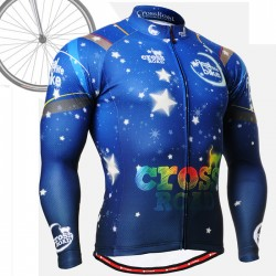 """CS2301"" - FIXGEAR Long Sleeve Cycling Jersey."