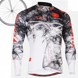 """CS2101"" - FIXGEAR Long Sleeve Cycling Jersey."