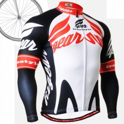 """Backdraft"" - FIXGEAR Long Sleeve Cycling Jersey."