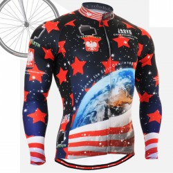 """CS1001"" - FIXGEAR Long Sleeve Cycling Jersey."