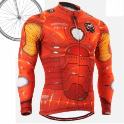 """IRON FIX"" - FIXGEAR Long Sleeve Cycling Jersey."