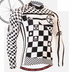 """CS601"" - FIXGEAR Long Sleeve Cycling Jersey."