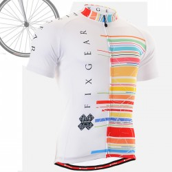 """CS3302"" - FIXGEAR Short Sleeve Cycling Jersey."