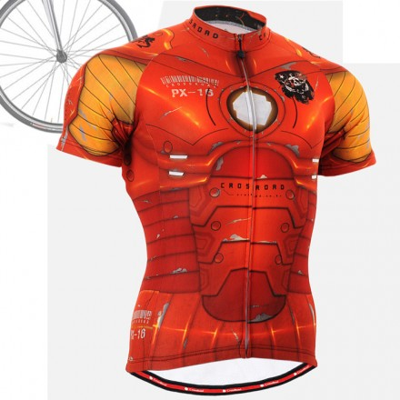 """IRON FIX"" - FIXGEAR Short Sleeve Cycling Jersey."