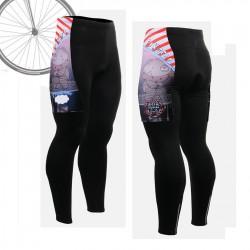 """""""LT16"""" - Pantalón Largo de Ciclismo FIXGEAR."""