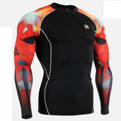 """Magma"" - FIXGEAR Second Skin Technical Compression Shirt ."