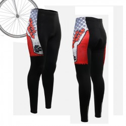"""Thorned Skull"" WOMAN - FIXGEAR Long Cycling Pants."