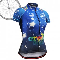 """CSW2302"" WOMAN - FIXGEAR Short Sleeve Cycling Jersey."