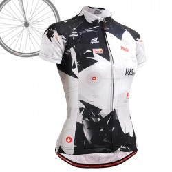 """Live Nature"" WOMAN - FIXGEAR Short Sleeve Cycling Jersey."
