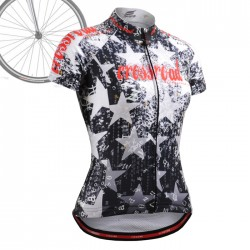 """CSW2402"" WOMAN - FIXGEAR Short Sleeve Cycling Jersey."