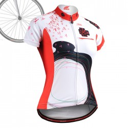 """CSW2502"" WOMAN - FIXGEAR Short Sleeve Cycling Jersey."