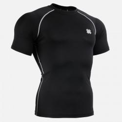 """BLACK FIX"" Short Sleeve - FIXGEAR Second Skin Technical Compression Shirt ."