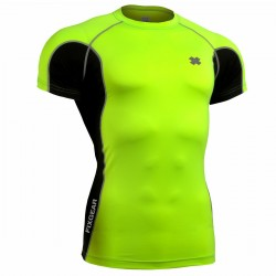 """""""FCT-BGS  - FIXGEAR Second Skin Technical Compression Shirt ."""