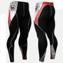 """""""Thorned Skull"""" - FIXGEAR Second Skin Technical Compression Tights ."""