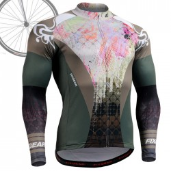 """Splash"" - FIXGEAR Long Sleeve Cycling Jersey."