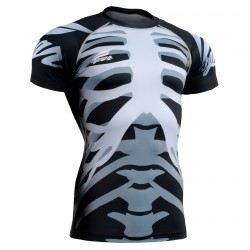 """Bones"" - FIXGEAR Short Sleeve Technical Compression Shirt ."