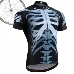 """BONES"" - FIXGEAR Short Sleeve Cycling Jersey."