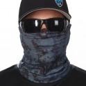 """BLUE DIGITAL CAMO"" Face Shield"