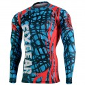"""""""THE WEB"""" - FIXGEAR Second Skin Technical Compression Shirt. SPECIAL MMA EDITION"""