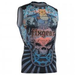 """""""Laughing Buddha"""" SIN Mangas - Camiseta Técnica de Compresión Segunda Piel FIXGEAR."""