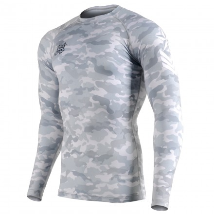"""CAMO G"" - FIXGEAR Second Skin Technical Compression Shirt."