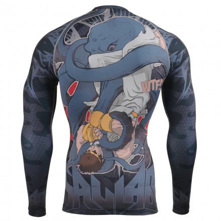 """""""GRAPPLING? WTF!"""" - FIXGEAR Second Skin Technical Compression Shirt."""