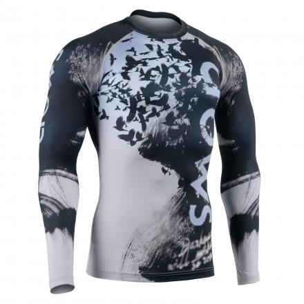"""RAVIN DARKNESS"" - FIXGEAR Second Skin Technical Compression Shirt."