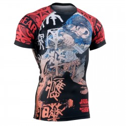 """SAMURAI"" - FIXGEAR Short Sleeve Technical Compression Shirt ."