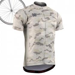 """""""CAMO Y"""" - FIXGEAR Short Sleeve Cycling Jersey."""