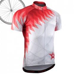 """""""FIRE RAZORS"""" - FIXGEAR Short Sleeve Cycling Jersey."""