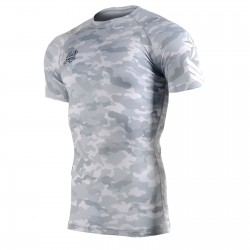 """CAMO G"" - FIXGEAR Short Sleeve Technical Compression Shirt ."