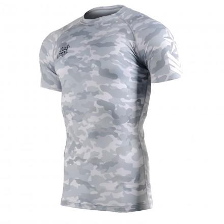 """CAMO G"" - FIXGEAR Short Sleeve Technical Compression Shirt ."