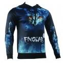 """NIGHT EYES"" - FIXGEAR Technical Running/Training/Casual Hoodie"