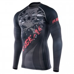"""BONE CRUSHER"" - FIXGEAR Second Skin Technical Compression Shirt ."
