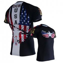 OCR USA Camiseta Técnica Manga Corta UNISEX