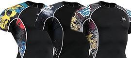 Camisetas Manga Corta Compresión (UNISEX)